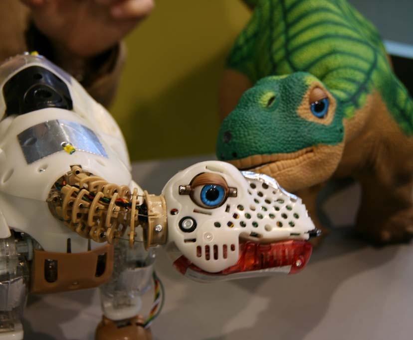 Interview: Roboter-Dino Pleo kommt nach Deutschland - Pleo: Die Haut macht den Unterschied