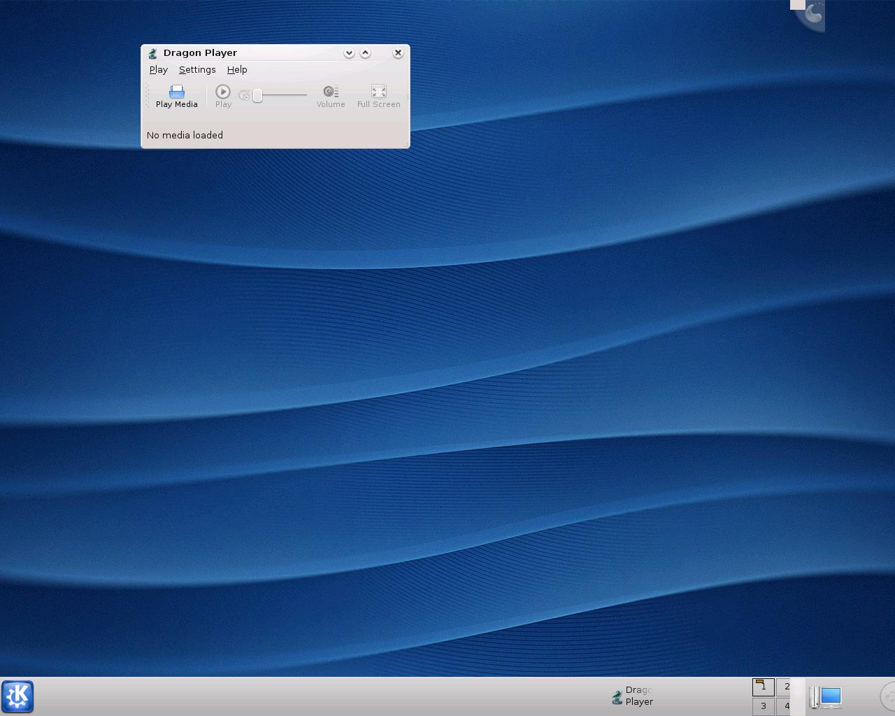 Erste Vorschau auf KDE 4.1 veröffentlicht - Dragon-Videoplayer