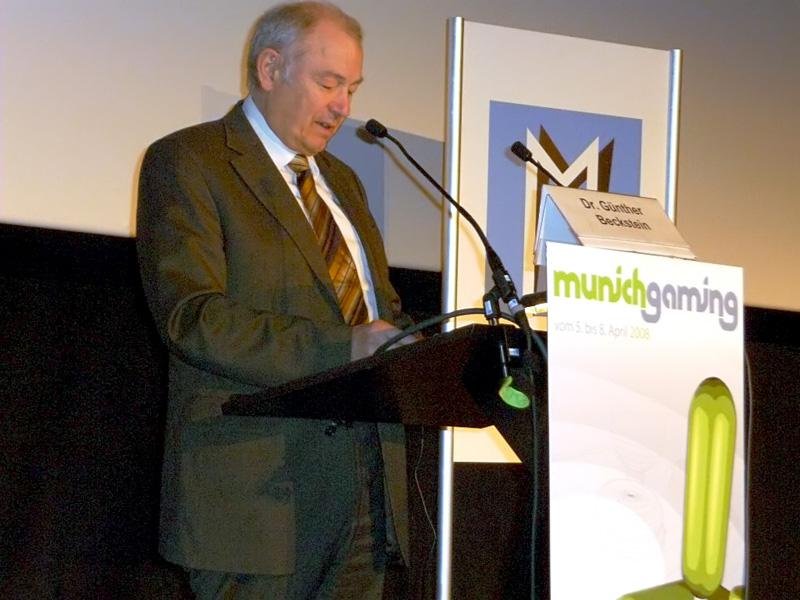 Beckstein und Molyneux eröffnen Munich Gaming -