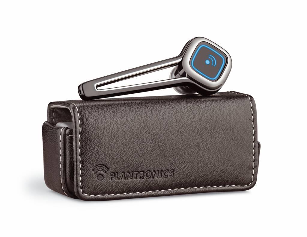 Plantronics: Bluetooth-Headset mit Akku-Ladetasche - Plantronics Discovery 925