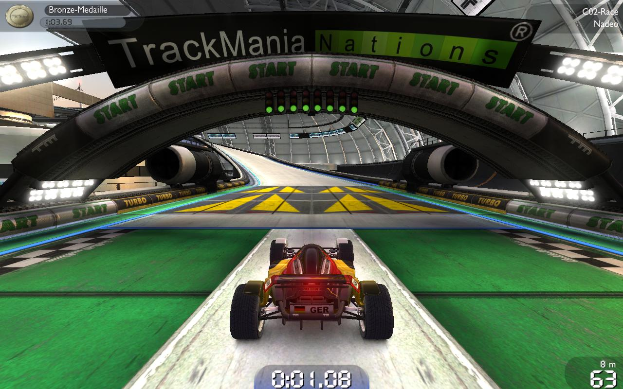 Trackmania Nations Forever als kostenloser Download online - Trackmania Nations Forever