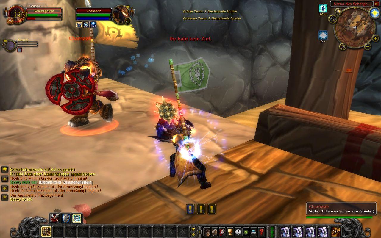 World of Warcraft startet Arenaturnier 2008 - World of Warcraft