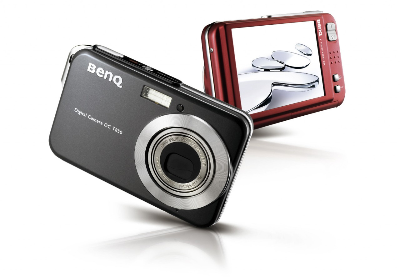 BenQ-Digitalkamera mit großem Touchscreen -