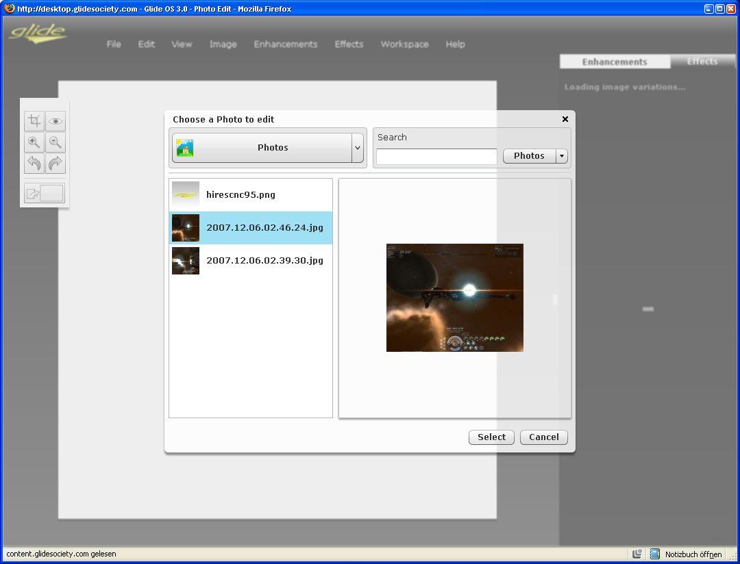 Glide OS - ein Desktop auf allen Geräten - Glide Photo...