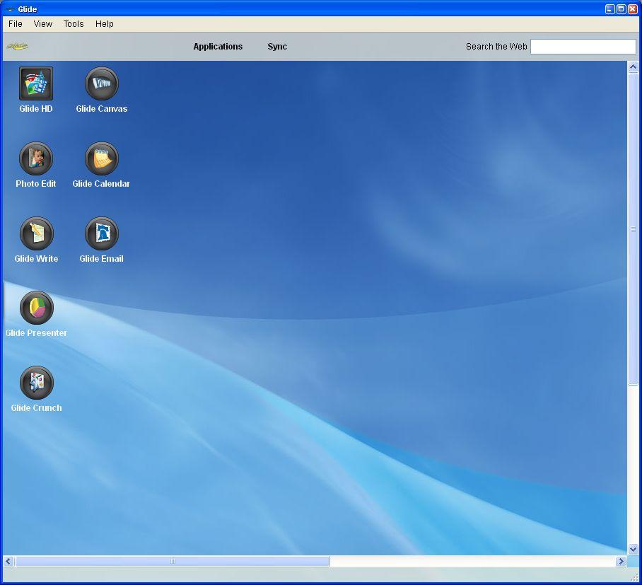 Glide OS - ein Desktop auf allen Geräten - Glide Desktop Applications