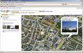Google Maps mit Wikipediainhalten und Panoramiofotos
