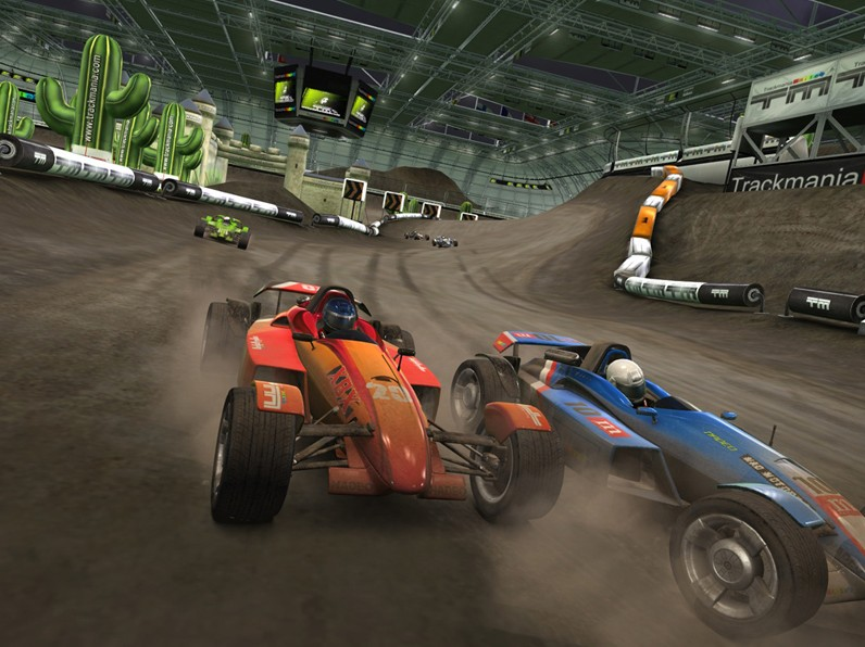 Spieletest: Trackmania United Forever - toller Rennbaukasten - Trackmania United Forever