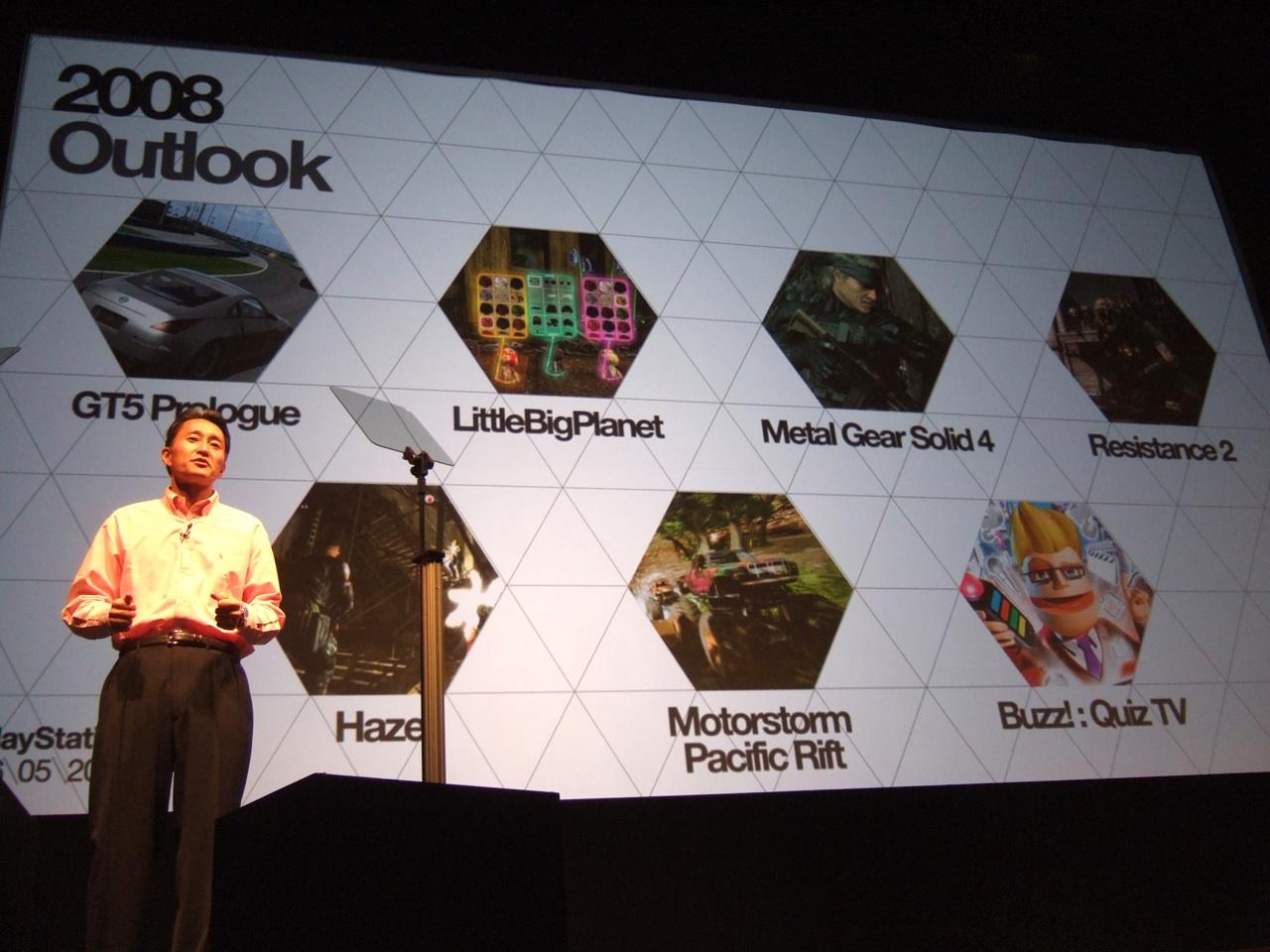 Neuer Chef für Sonys PlayStation-Entwicklerstudios - SCEI-Chef Kaz Hirai auf dem PlayStation Day am 6. Mai 2008 in London