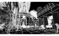 Tempel als Wireframe (HD)