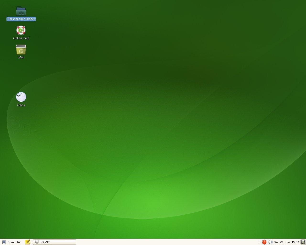 Test: OpenSuse 11.0 mit KDE 4 - Gnome unter OpenSuse