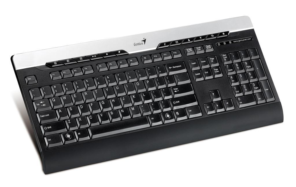 Bürotastaturen zum Vollkleckern - Genius SlimStar 220