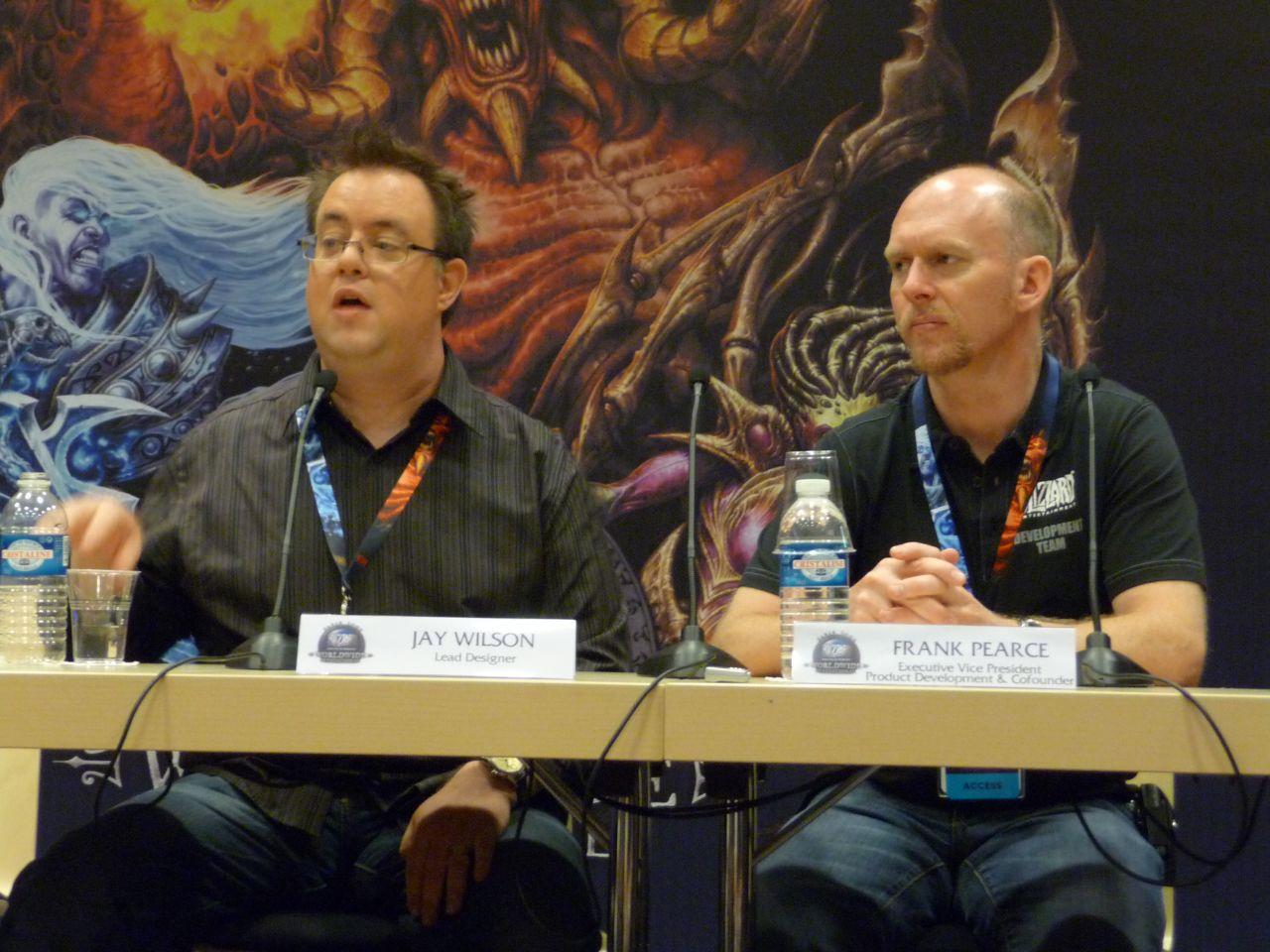 Blizzard Invitational: Höllenfürst-Fest und Gamemaster-Gulag - Jay Wilson (Lead Designer) und Frank Pearce (Ececutive Vice President Product Development) von Blizzard