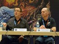 Jay Wilson (Lead Designer Diablo 3) und Frank Pearce (Ececutive Vice President Product Development) von Blizzard