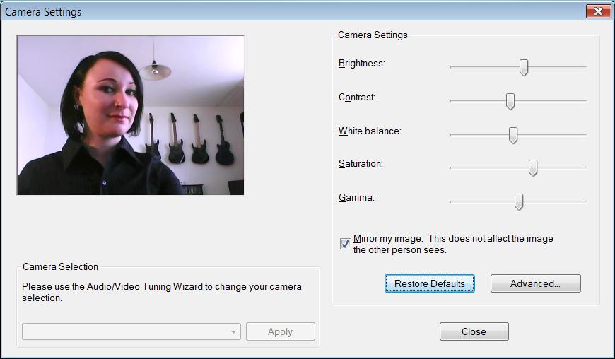 Test: Gigabyte M912 - das erste Netbook als Tablet-PC (Upd) - Webcam im Betrieb