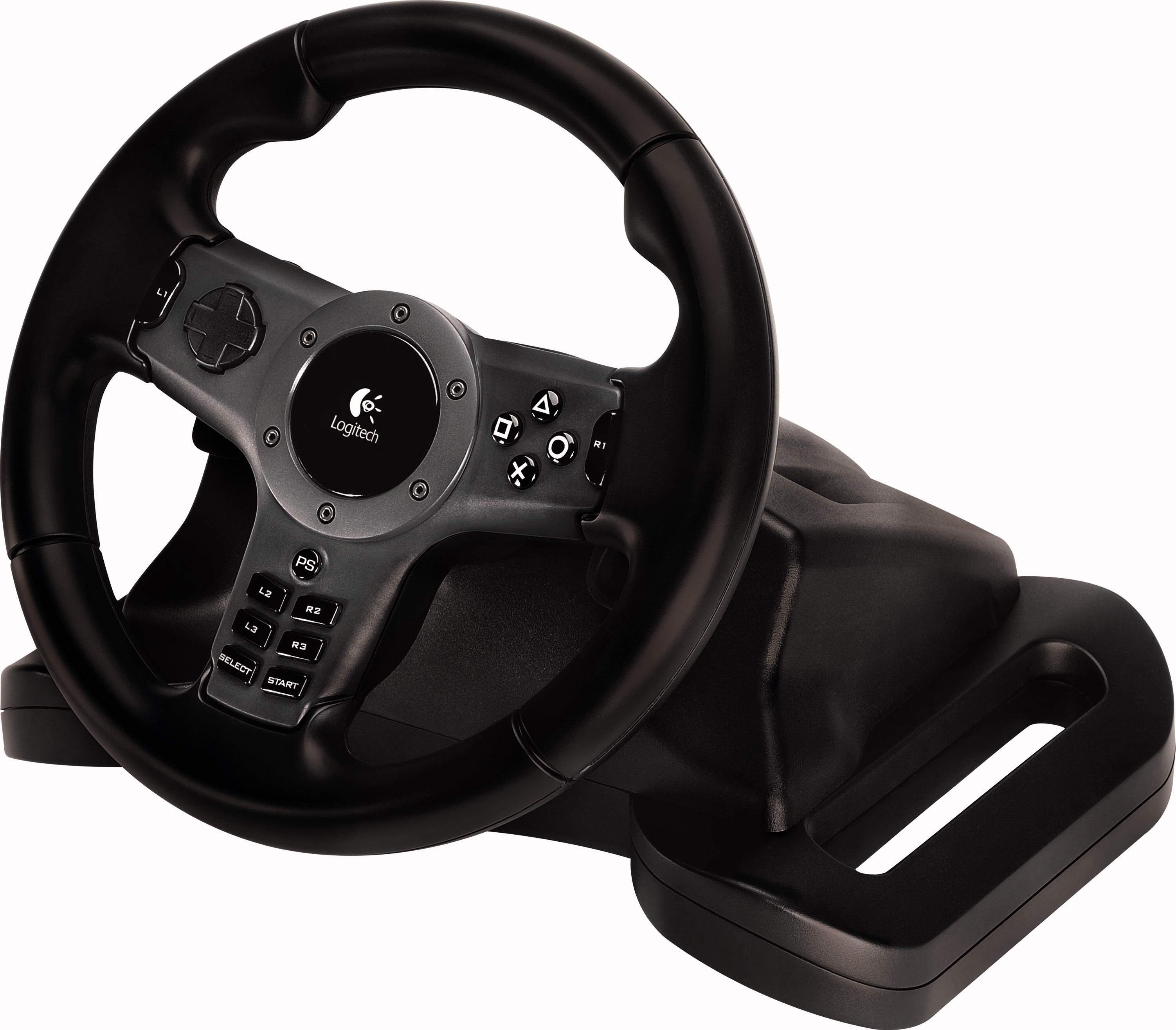 PS3-Lenkrad mit Force-Feedback und Funkanbindung