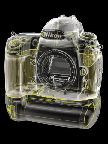 Versiegelung der Nikon D700 (Bild: Nikon)