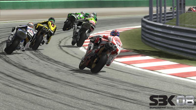 Spieletest: SBK 08 - Lust und Frust auf der Rennpiste - SBK 08 (Xbox 360)