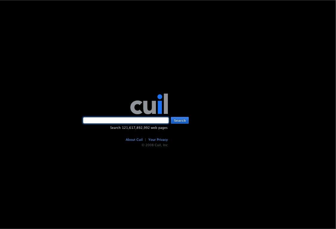 Cuil startet die größte Suchmaschine der Welt - Cuil