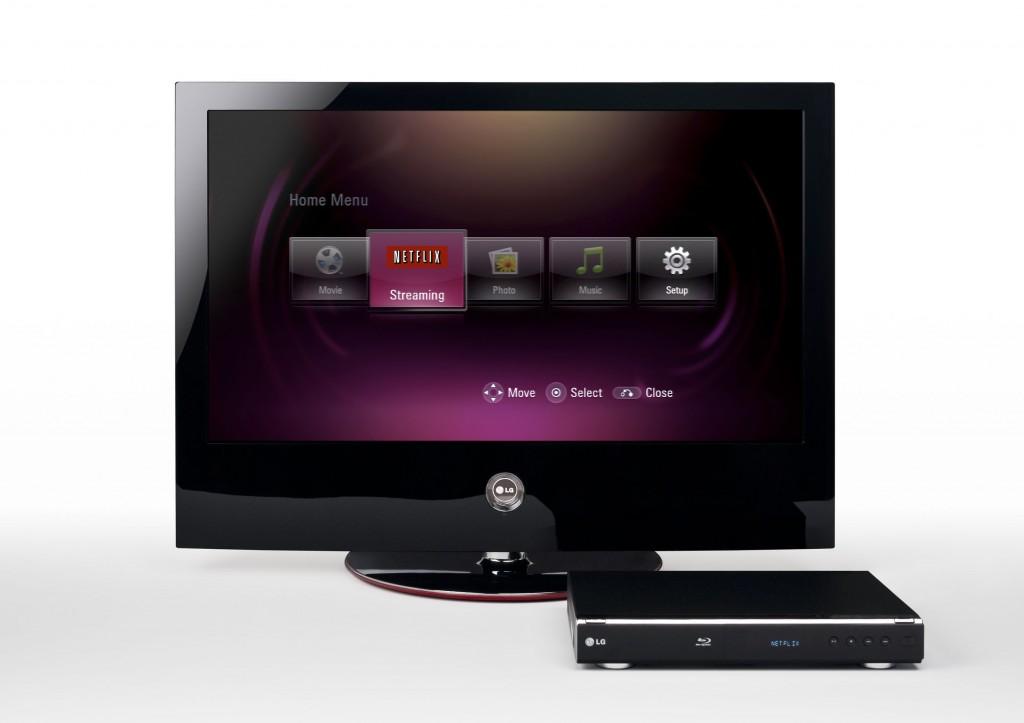 Erster Blu-ray-Player mit eingebauter Onlinevideothek - LG BD300 mit Netflix-Anbindung