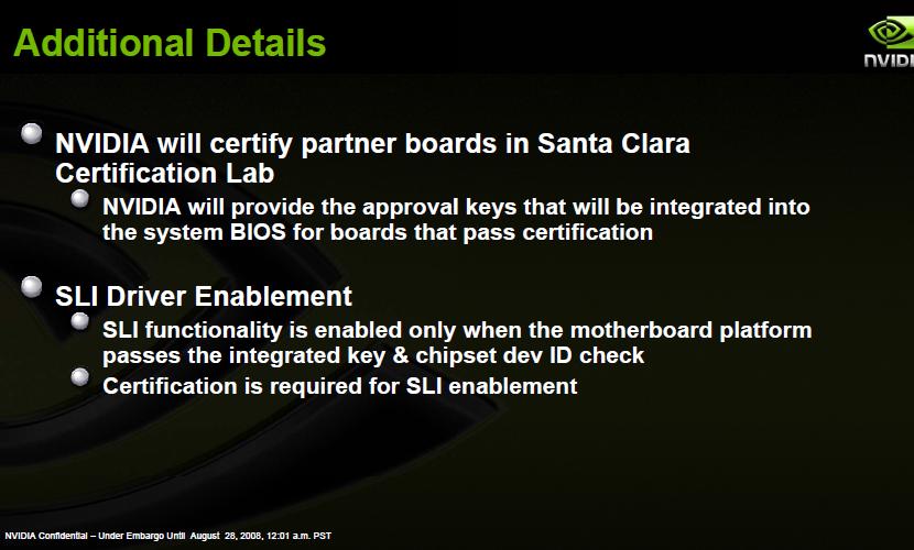 Nvision: Nvidia bietet SLI-Lizenz für Intel-Mainboards an - Nvidia vergibt SLI-Lizenzen