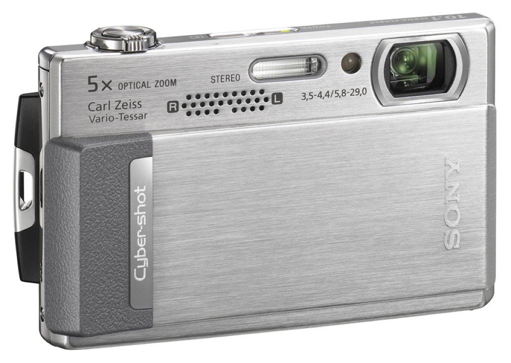 Sony-Kompaktkamera zeichnet HD-Videos auf - Sony DSC T500