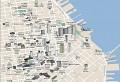 3D-Stadtplan von San Francisco