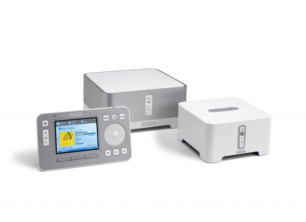 Neue ZonePlayer von Sonos - mehr Reichweite für die Musik - Sonos Bundle 150 - mit ZP90, ZP120 und CR100