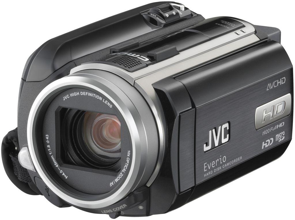 Camcorder mit Umschaltmöglichkeit zwischen MPEG2 und AVCHD