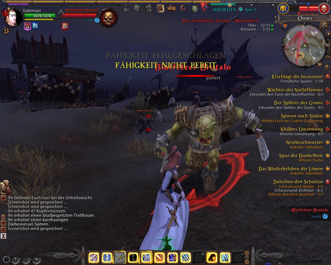 Warhammer Online: Bestechungsversuche durch Goldverkäufer - Warhammer Online
