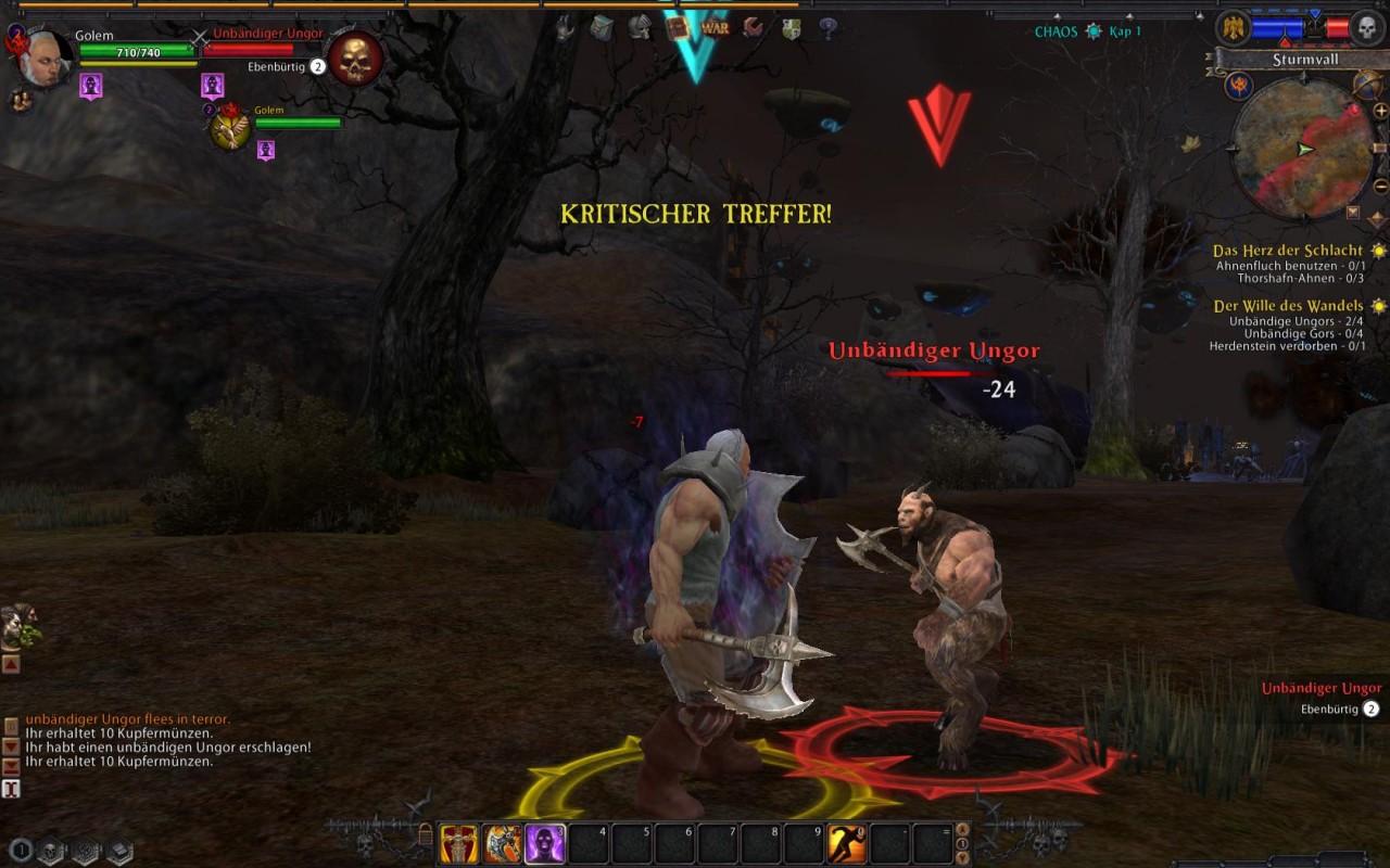 60 Minuten: Warhammer Online - WoW-Konkurrent gestartet - Warhammer Online