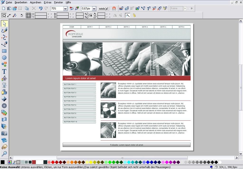 Xara Xtreme Pro 4: Grafiklösung in hoher Geschwindigkeit - Xara Xtreme Pro 4