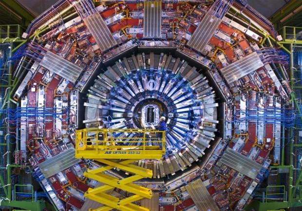 Das Experiment CMS (Foto: CERN)