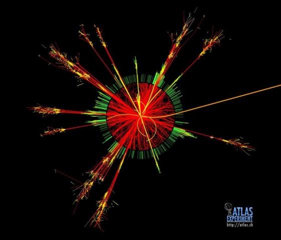 Schwarzes Loch im Atlas: Kritiker fürchten den Weltunergang (Bild: CERN)
