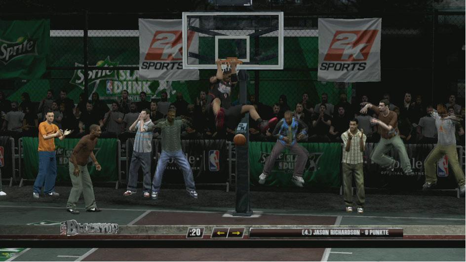 Spieletest: NBA Live 09 verschießt, NBA 2K9 versenkt - NBA 2K9