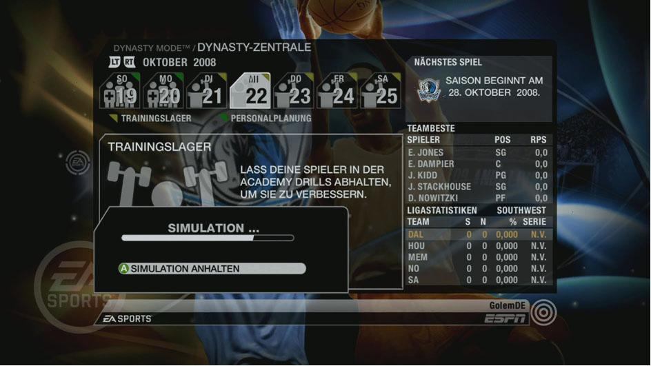 Spieletest: NBA Live 09 verschießt, NBA 2K9 versenkt - NBA Live 09