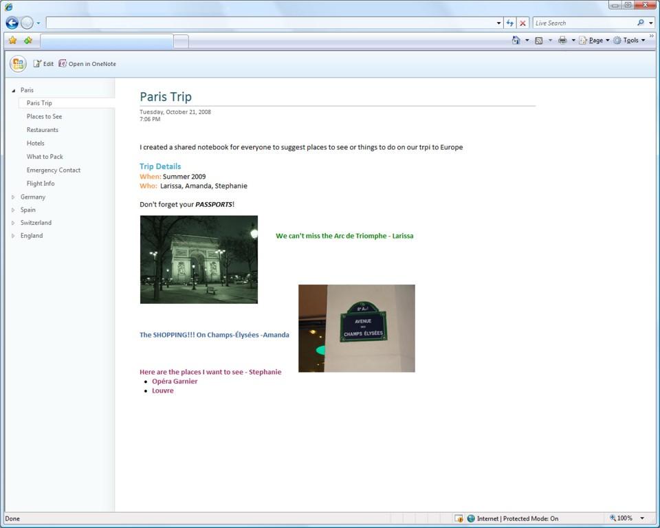 Microsoft Office kommt in den Browser - OneNote als Office Web Applikation