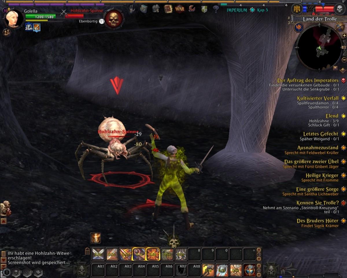 Autos klauen statt Finanzkrise - Spiele 2008  - Warhammer Online