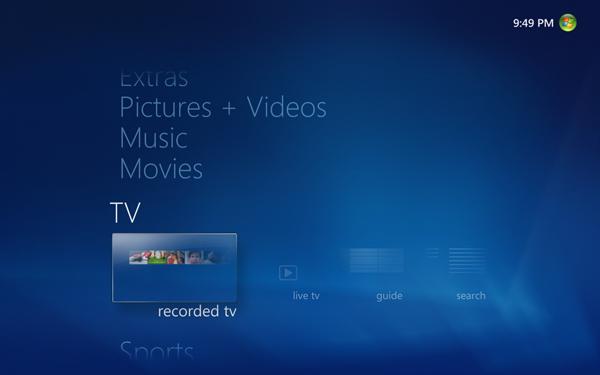 Windows 7 und seine Media-Center-Funktionen -
