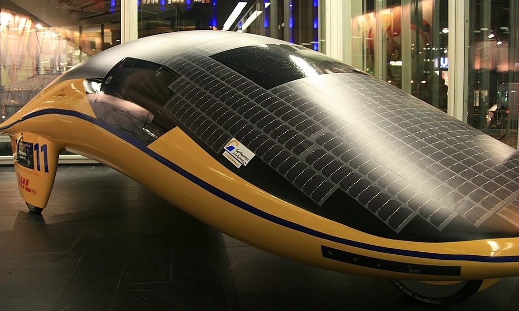Das Auto der Zukunft ist elektrisch  - Ganz ohne Tankstelle: Solarmobil (Foto: wp)
