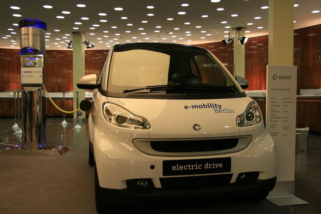 Das Auto der Zukunft ist elektrisch  - Elektrosmart  (Foto: wp)
