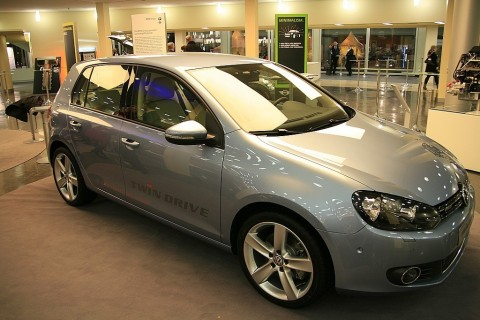 Hybridfahrzeug von VW... (Foto: wp)