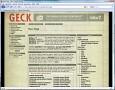 Die offizielle GECK-Webseite