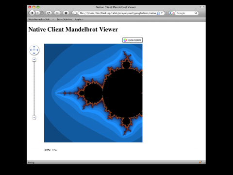 Native Client: Mandelbrot Demo
