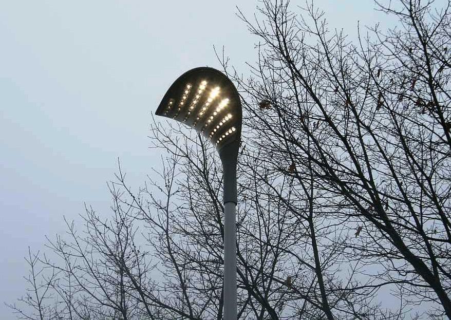 LED-Straßenbeleuchtung wird in Deutschland erprobt -