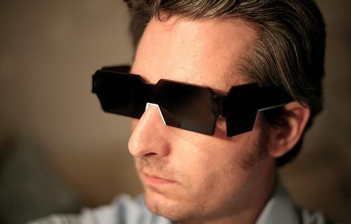 Selbstgemachtes Brillengestell (Foto: Bre Pettis)