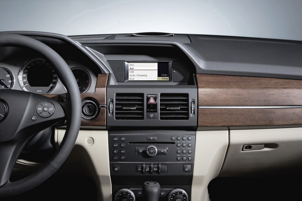 Eigener iPhone-3G-Sitz im Mercedes -