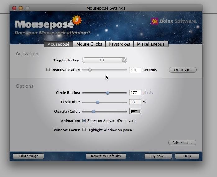 Mouseposé rückt die Maus ins rechte Licht