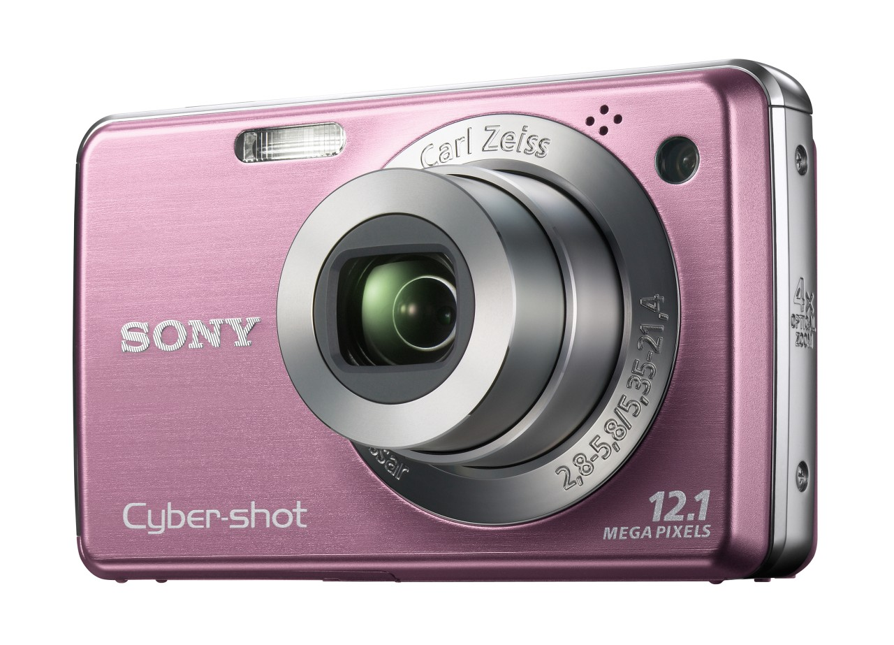 Neue Cybershot-Kameras mit optionalem GPS-Modul von Sony - Sony Cyber-Shot DSC W210