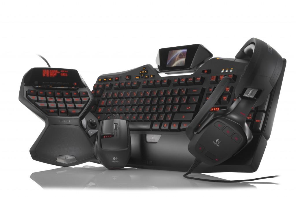Spieler mit außerirdischer Stimme - Tastatur G19 mit eingebautem Display.