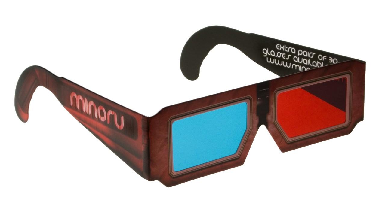 3D-Webcam Minoru mit zwei Kameras - 3D-Brille der Minoru
